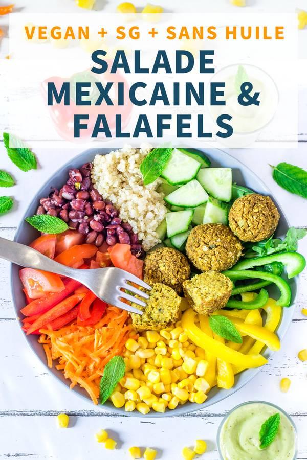 Salade Mexicaine et Falafels