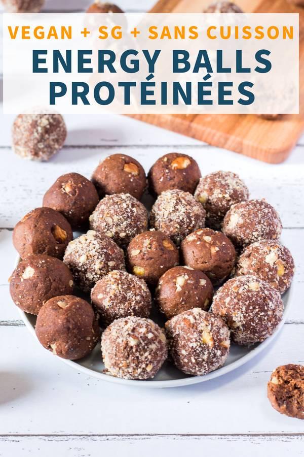 Energy balls protéinées