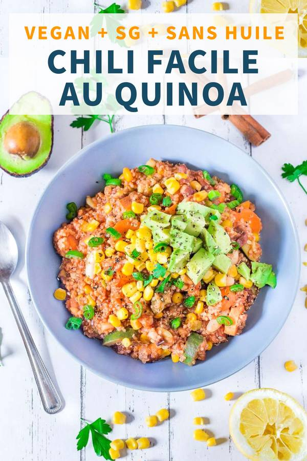 Chili Vegan au Quinoa