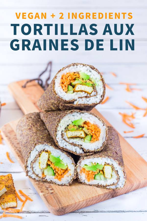 Tortillas aux Graines de Lin