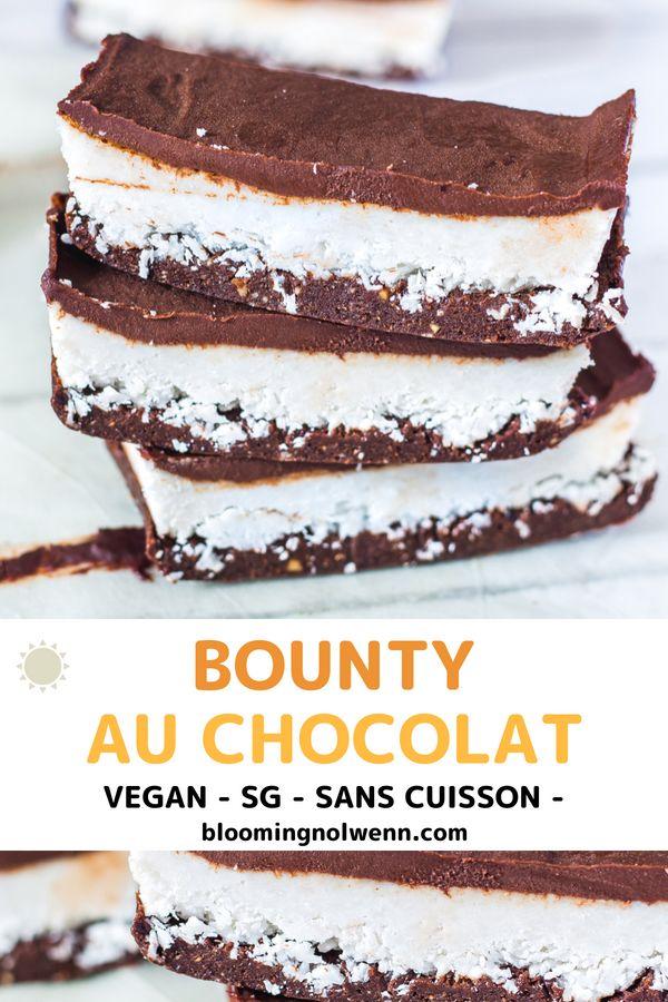 BARRES DE BOUNTY CHOCOLATÉES