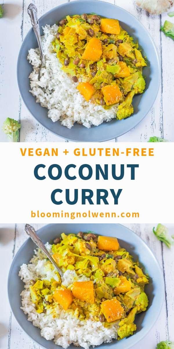 Easy Coconut Curry - Vegan