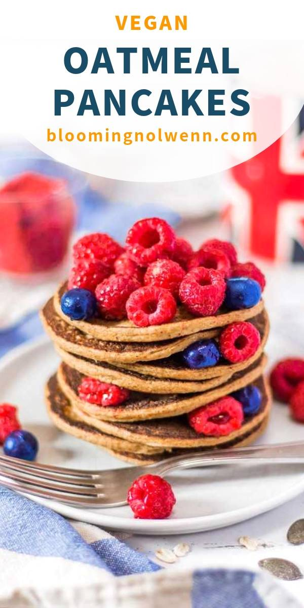 oatmeal pancakes vegan