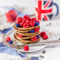 Easy Vegan Pancakes   Gluten-Free, Oil-Free