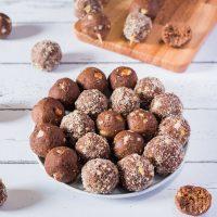 High-Protein Cookie Dough Bites | No-Bake