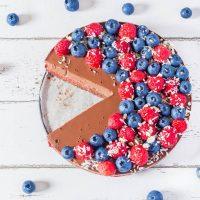 Tarte Framboises Chocolat Vegan