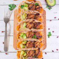 Vegan Taco Pockets with Falafels