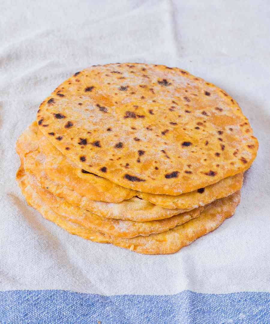 easy vegan tortillas