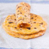 Vegan Sweet Potato Tortillas | 2 Ingredients, Oil-Free