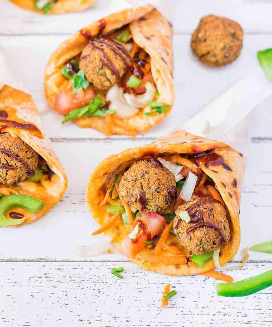 Tacos Vegan et Falafels