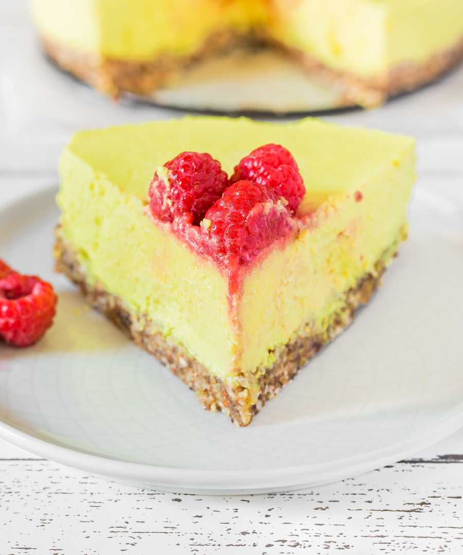 Cheesecake Vegan au Citron