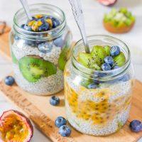 Tropical Coconut Chia Pudding | Vegan, Gluten-Free
