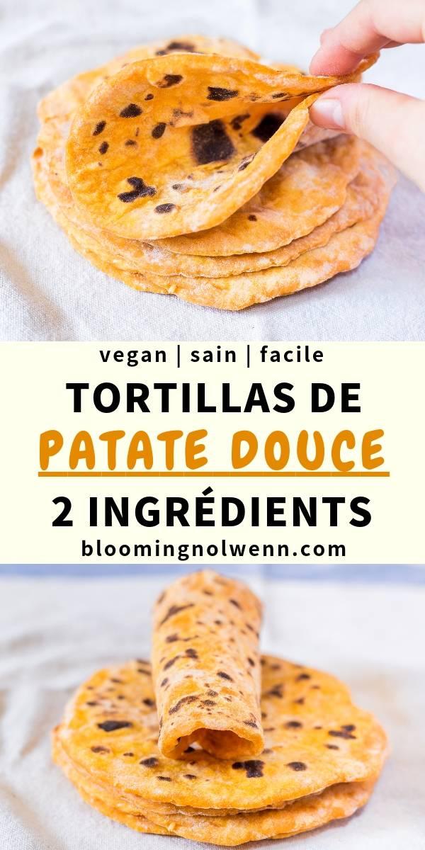 Tortillas de Patate Douce Vegan