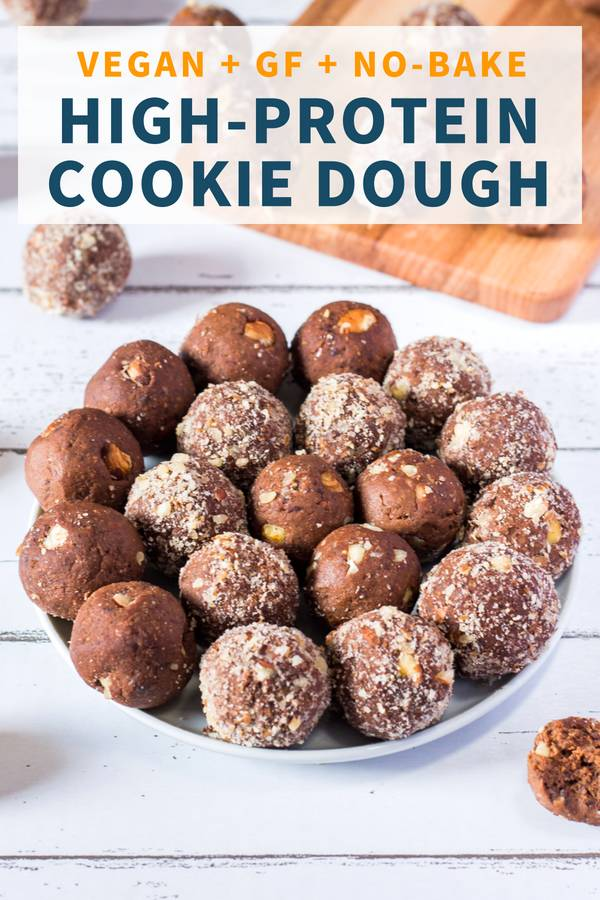 High-Protein Cookie Dough Bites