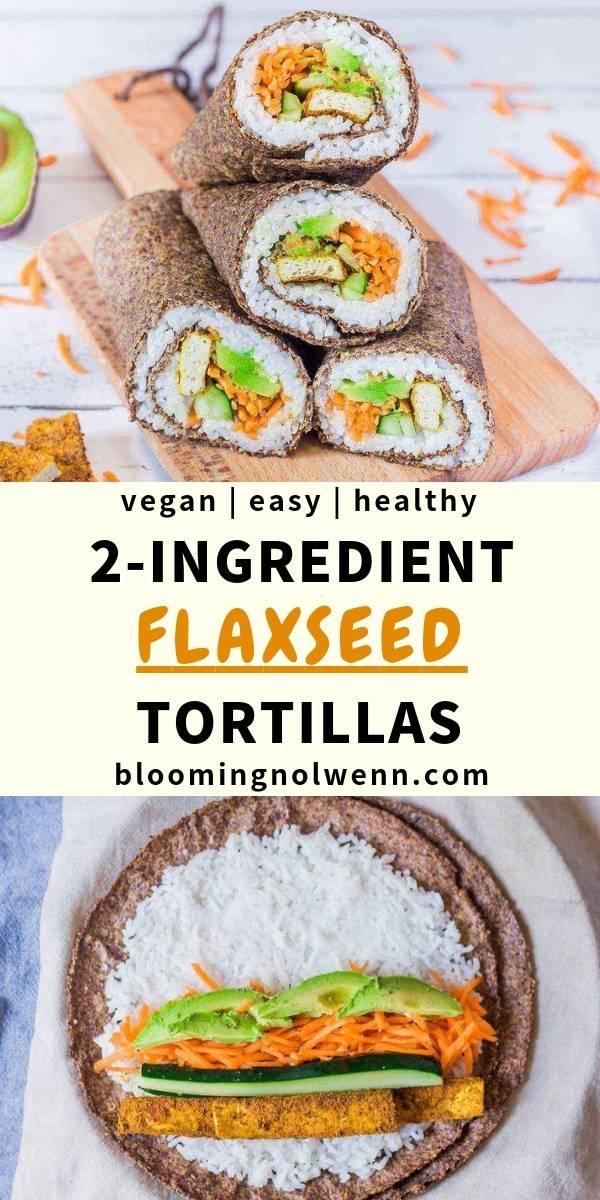 healthy tortillas flaxseeds