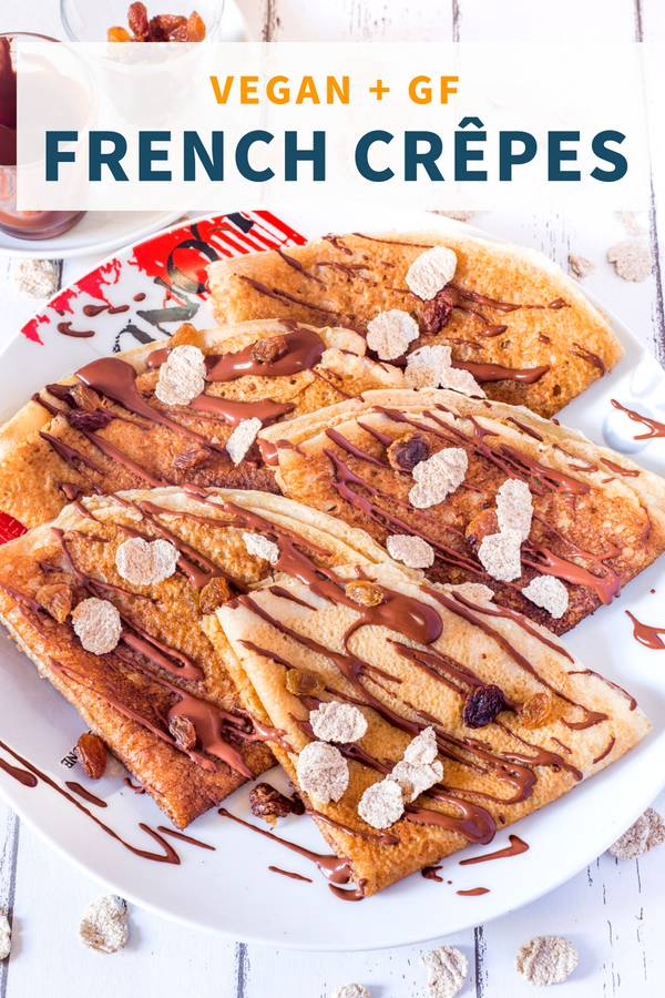 Vegan Gluten-Free French Crepes