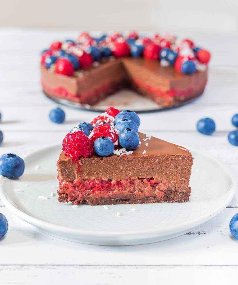 vegan chocolate cake no sugar