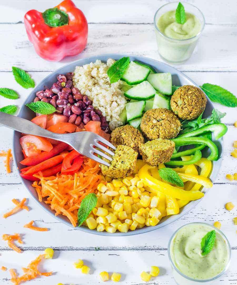 vegan salad oil-free