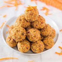 Easy Carrot Cake Bites | Vegan, Gluten-Free, No-Bake