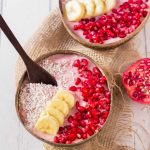 2-Ingredient Pomegranate Nicecream