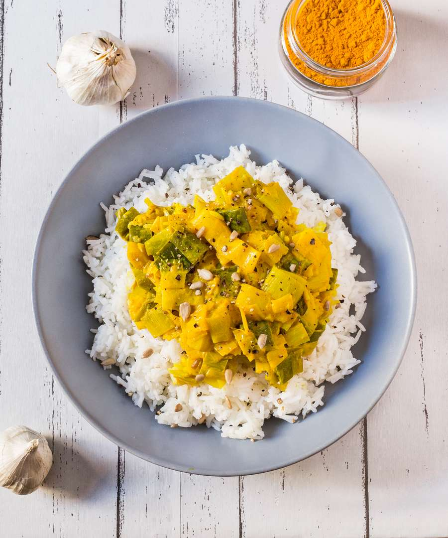 healthy vegan curry