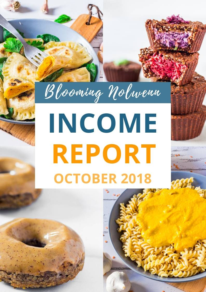 Blooming Nolwenn Income Report October 2018