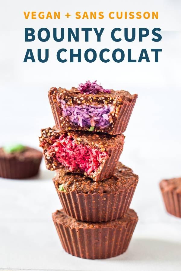 Bounty Cups au Chocolat