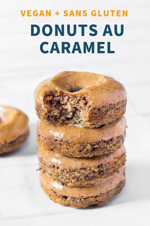 Donuts Vegan au Caramel