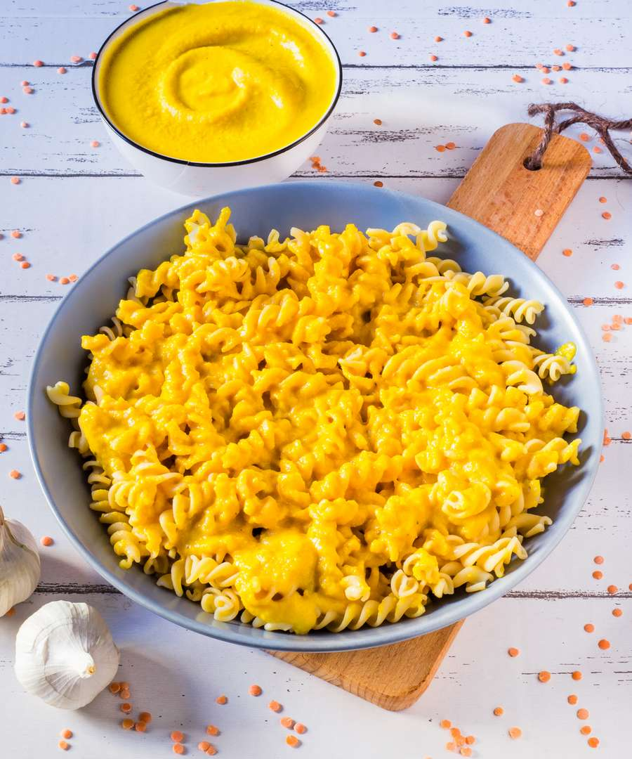 High-Protein Vegan Mac and Cheese