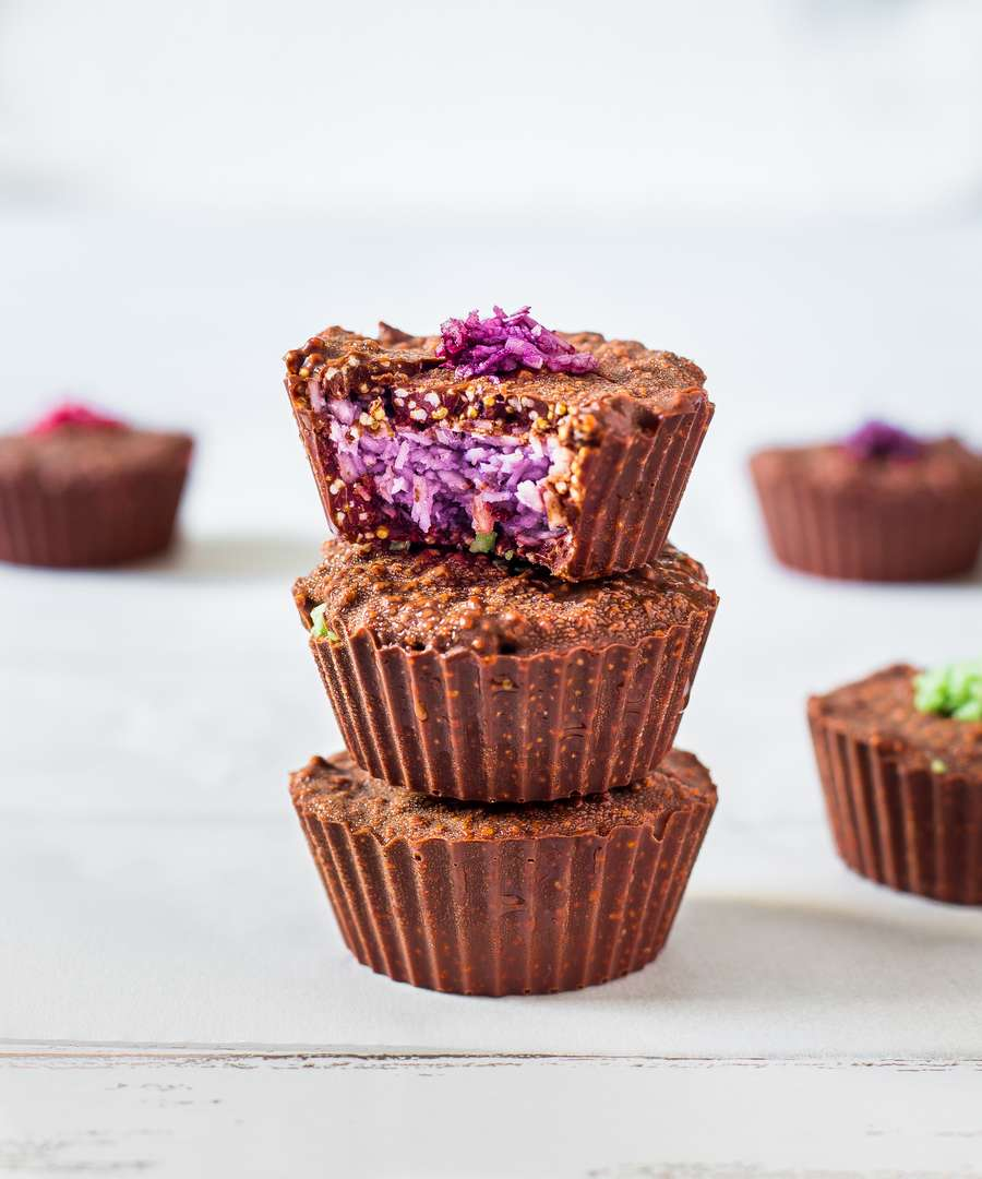 homemade coconut crunch cups