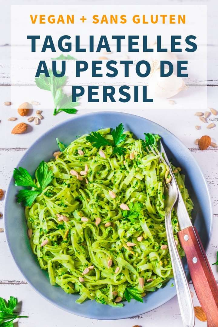 Tagliatelles au Pesto de Persil