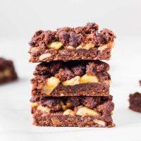 Crumb Bars Pomme Chocolat Vegan | Sans Gluten