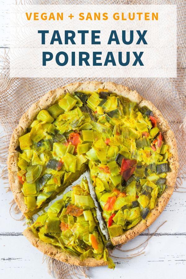 Tarte aux Poireaux Vegan