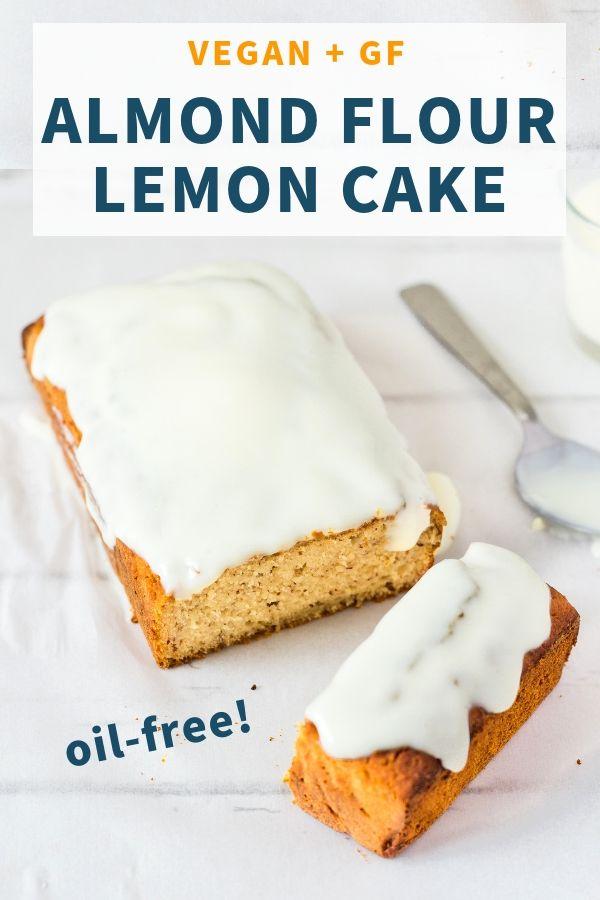 Almond Flour Lemon Cake - Gluten-Free, Healthy