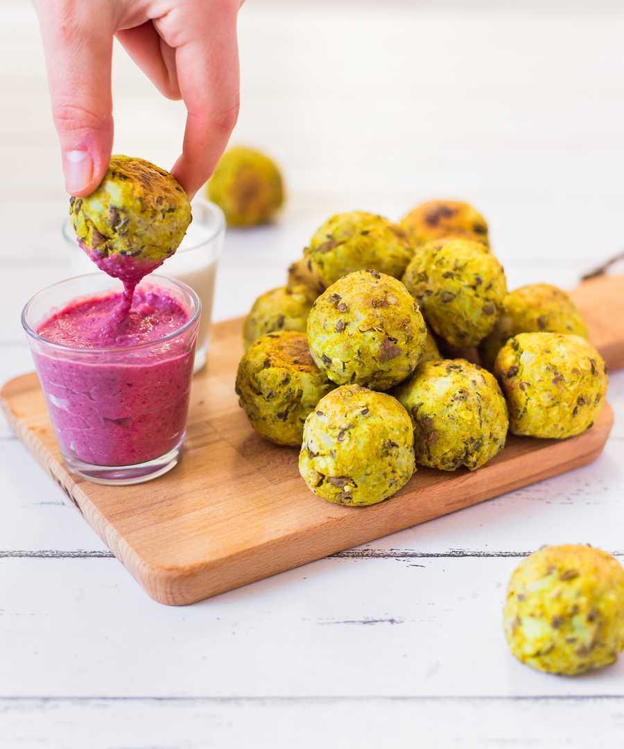 Vegan Lentil Potato Croquettes