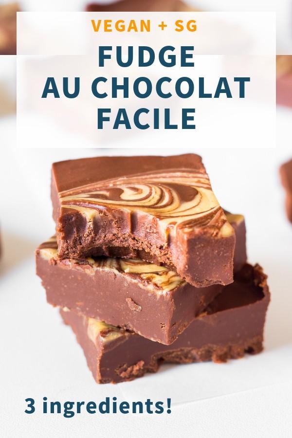 Fudge au Chocolat Facile