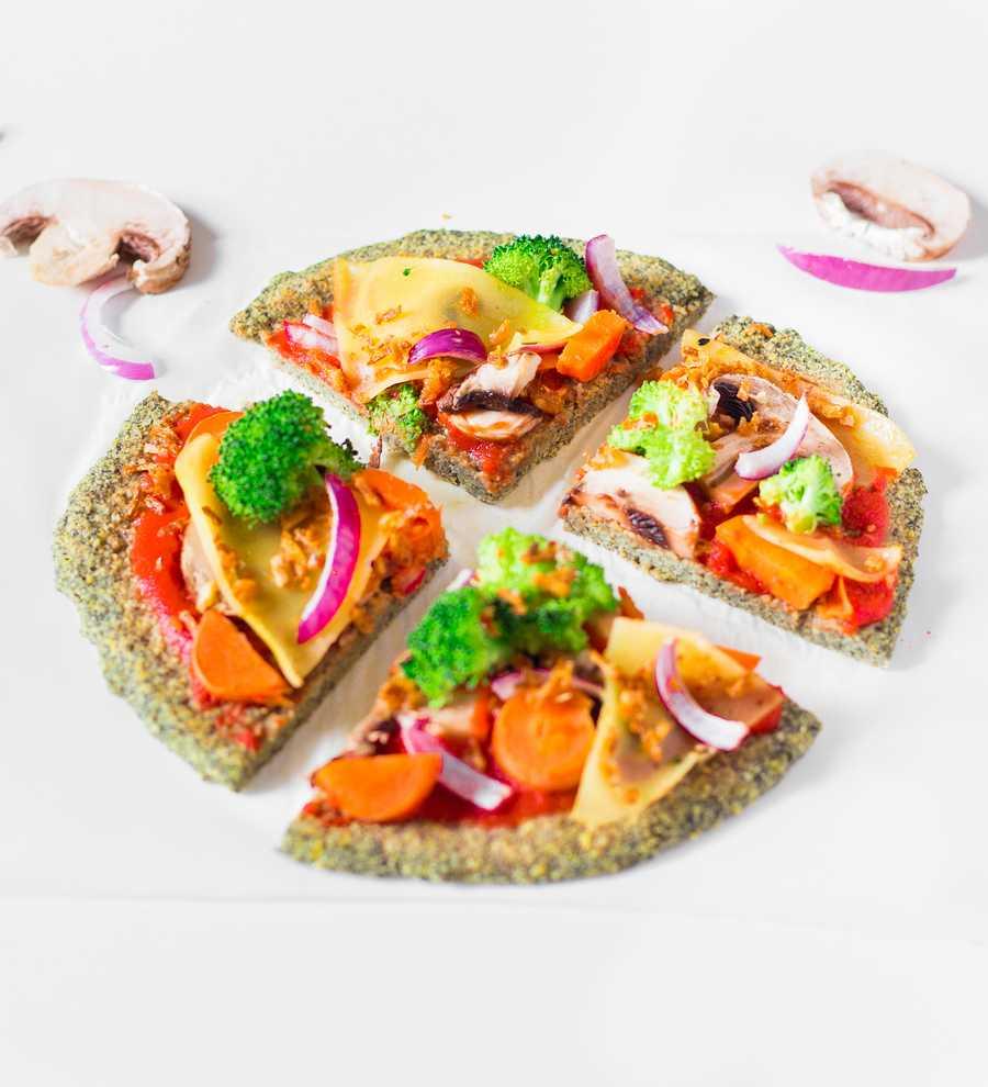 Pâte à Pizza aux Lentilles | Vegan, Sans Gluten