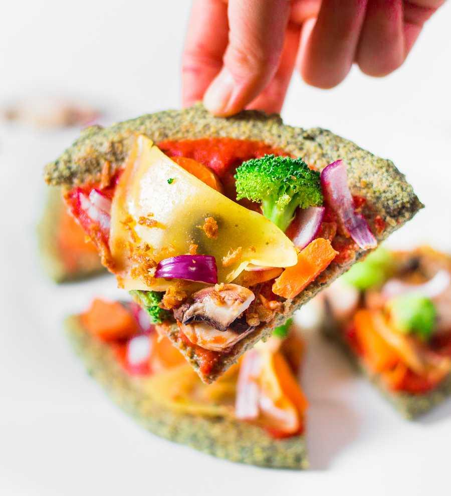healthy vegan pizza recipe