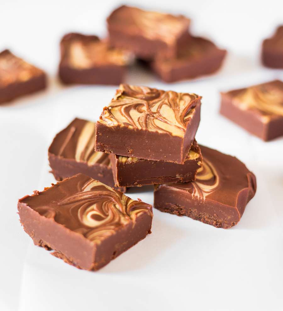 Vegan Peanut Butter Fudge
