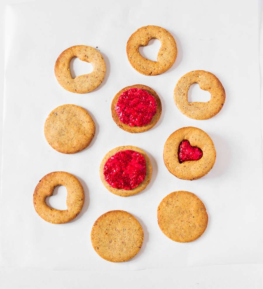 how to make linzer cookies
