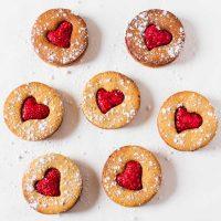 Vegan Linzer Cookies | Gluten-Free, Oil-Free