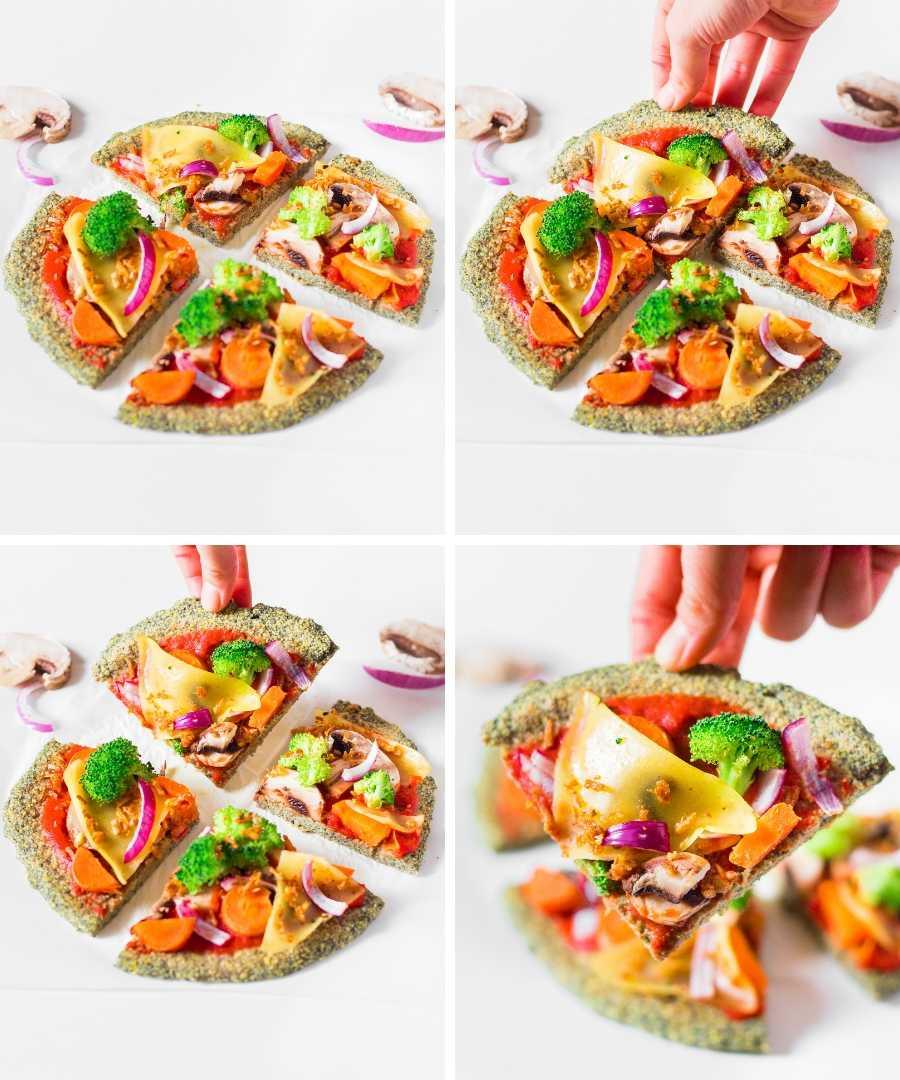 Pâte à Pizza aux Lentilles