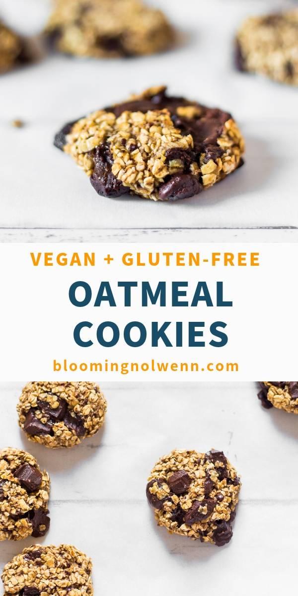 vegan oat cookies