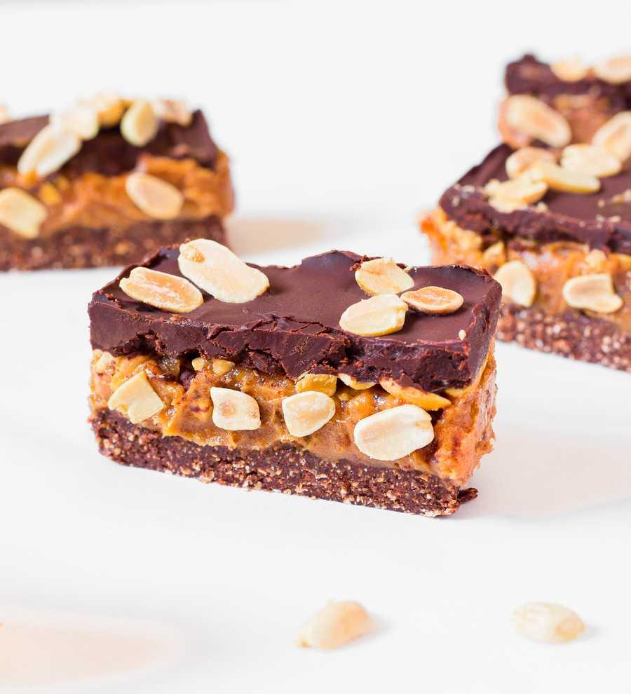 Snickers Vegan Maison