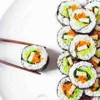 Easy Vegan Sushi Rolls | Gluten-Free