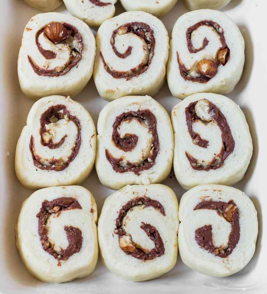oil-free cinnamon rolls