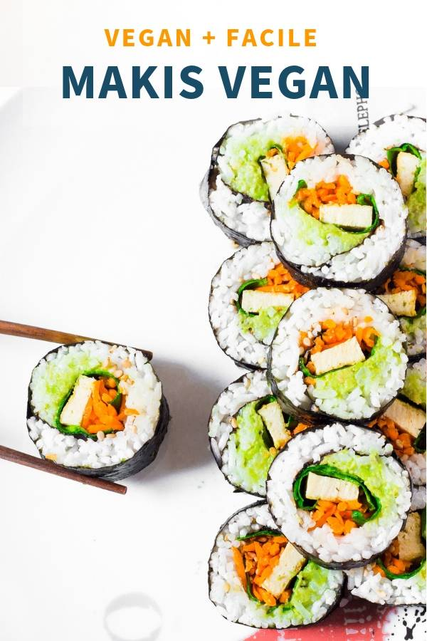 Makis Vegan Facile Sans Gluten