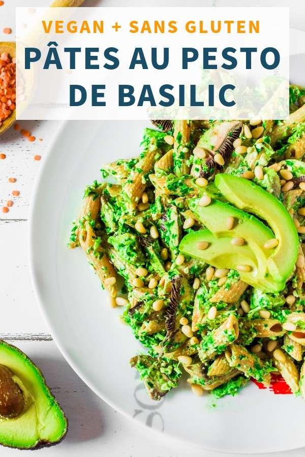 Pâtes au Pesto de Basilic _ Vegan, Facile