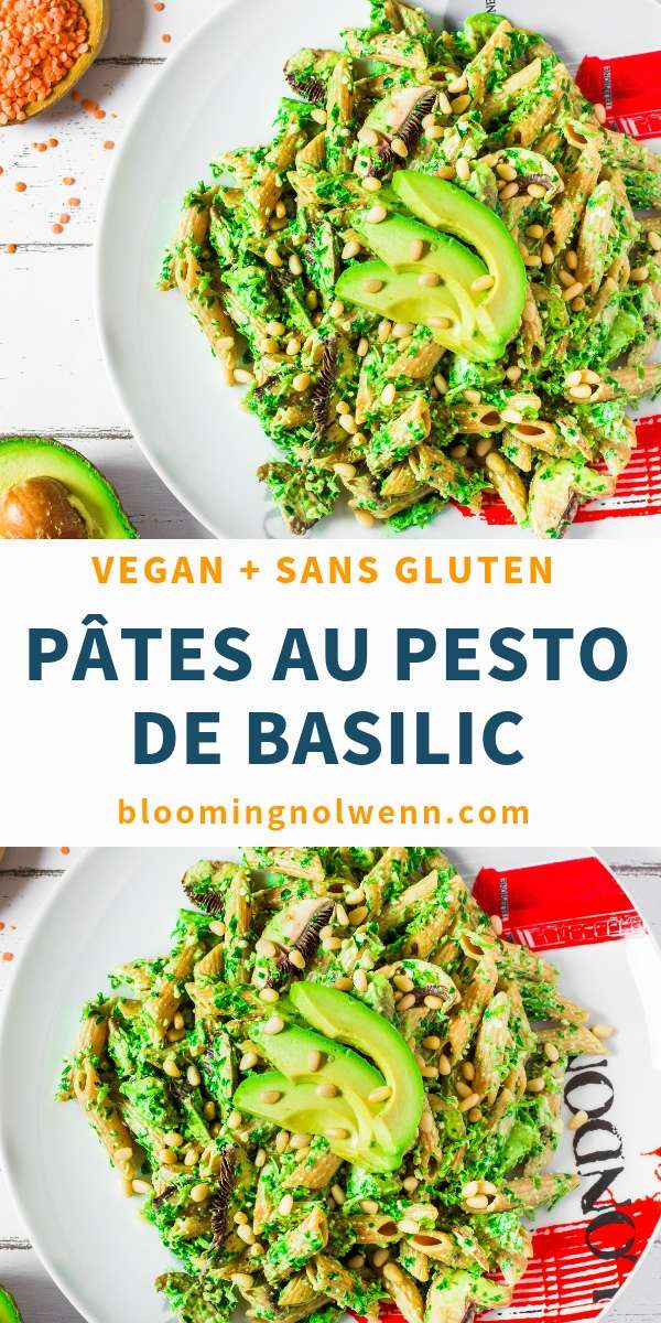 Pâtes au Pesto de Basilic _ Vegan