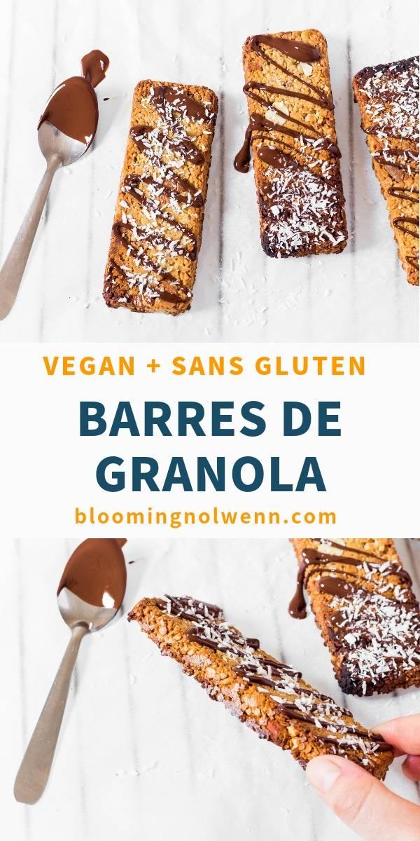 Barres de Granola Vegan Facile